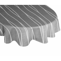 Tischdecke, DALLAS, Wirth schwarz Tischdecken Tischwäsche