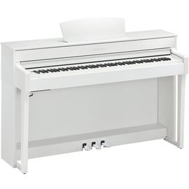 Yamaha CLP-635 WH Digital Piano Weiss matt