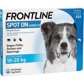 Merial Frontline Spot on Hund M 3 St.