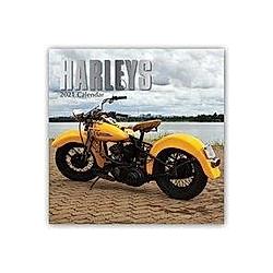 Harleys - Harley Davidson 2021 - 16-Monatskalender