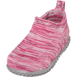 Playshoes Hausschuh Strick pink