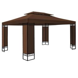 Deuba Pavillon Elda, wetterfest braun