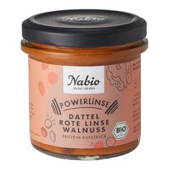 Powerlinse rot Protein-Aufstrich BIO 140g - Nabio