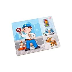 Greifpuzzle Polizeieinsatz (Kinderpuzzle)