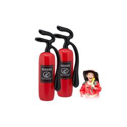 relaxdays Aufblasbares Werkzeug Feuerlöscher aufblasbar 2er Set