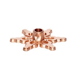 Hübsch Kerzenhalter ø9cm Kupfer