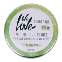 We Love The Planet - Vegane Deocreme Luscious Lime - 48 g