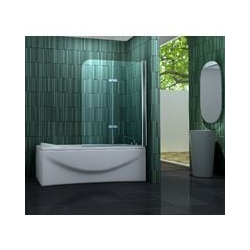 Duschtrennwand TWO 100 x 140 cm (Badewanne)