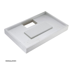LDG Duschwannenträger für Cayonoplan 100 × 75 × 1,8 cm