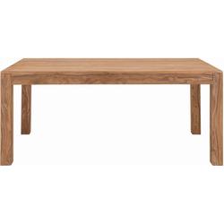 SIT Esstisch Sanam, aus Sheesham Holz 180 cm x 75 cm x 90 cm