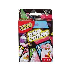 Mattel® Spiel, Mattel FNC46 - UNO - Kartenspiel Unocorns, Einhorn