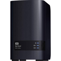 WD My Cloud™ EX2 Ultra Cloud Speichergerät 4TB 2 Bay Business Cloud, bestückt mit 2x 2TB WD RED
