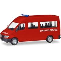 HERPA Mercedes Benz Sprinter 96 Bus Feuerwehr 094115 H0