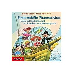 Piratenschiffe  Piratenschätze  1 Audio-CD - Hörbuch