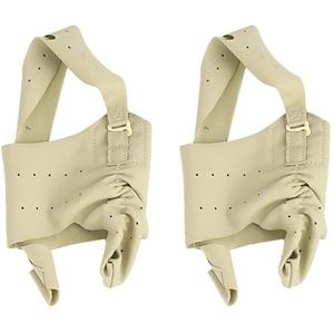 HEALLILY Hallux Valgus Bandage Zehenspreizer Große Zehe Hallux Valgus Korrector Atmungsaktive Daumen Korrektur Socken 1 Paar