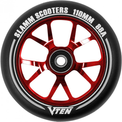 SLAMM V-TEN II 110mm Rolle 2021 red