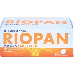 RIOPAN Magen Tabletten Kautabletten 100 St.