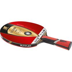 Sunflex Tischtennisschläger LEGEND A50, rot