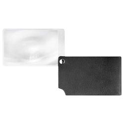 ESCHENBACH Scheckkartenlupe schwarz visoPOCKET 2,5x Leder (1 Stk.)