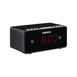 Lenco Radiowecker CR-510, weiss Radiowecker schwarz