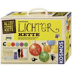 Kosmos 604288 Lichterkette Basteln Bastelbox ab 8 Jahre