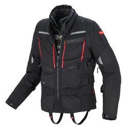 Spidi 4Season H2Out Motorfiets textiel jas, zwart, L