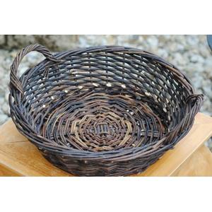 Kunert-Keramik Weidenkorb,Weidenschale,naturbelassen,bepflanzbar,4 Größen lieferbar (27)