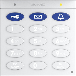 Mobotix Keypad mit RFID-Technik für T26, weiß