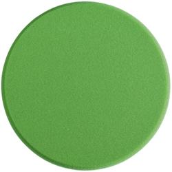 SONAX PolierSchwamm (medium) StandardPad, Ø 200 mm, Mittelharter feinporiger Schwamm zum maschinellen Polieren von Lacken, Farbe: grün