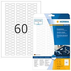 1.500 HERMA Schmucketiketten 5116 weiß