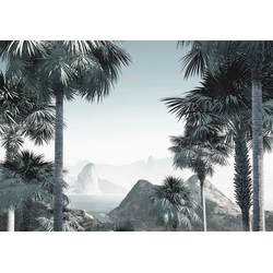 Komar Fototapete Vliestapete Guanabara, glatt, bedruckt, geblümt, floral, realistisch, 400 x 280 cm