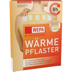 WÄRMEPFLASTER Nacken/Rücken 8,5x28,5 cm WEPA 2 St