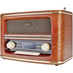 Dual NR 1 DAB Nostalgie Radio Tischradio DAB+, UKW Holz