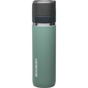 Stanley GO Ceramivac Thermosflasche mit Keramikbeschichtung, 0.7 L, lindgrün, beschichteter 18/8 Edelstahl, vakuumisoliert, geschmacksneutral, Thermoskanne Isolierkanne Thermoflasche