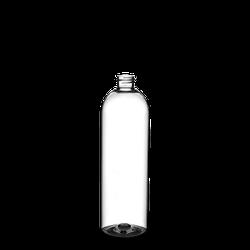 500 ml Rundflaschen PET klar 24/410