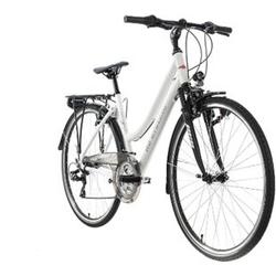 """KS Cycling Trekkingrad Damen 28"""" Canterbury 21 Gang weiß Tourenlenker"""