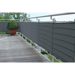 FLORACORD Balkonsichtschutz , BxH: 500x65 cm, anthrazit
