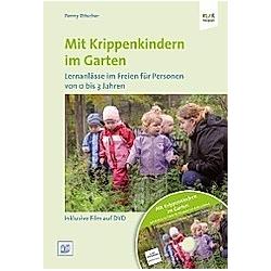 Mit Krippenkindern im Garten  m. 1 DVD. Penny Ritscher  - Buch