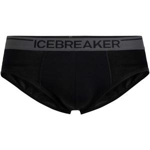 Icebreaker Herren Funktionsunterwäsche Anatomica Briefs Unterhose, schwarz - Black/Monsoon, xl