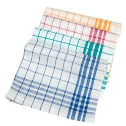 Meiko Dessin 1221 Geschirrtuch , Trockentuch aus Baumwolle, Farbe: blau/weiß