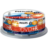 Philips DVD+R 4,7GB 16x 25er Spindel