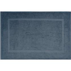 Badematte Kristall Dyckhoff, Höhe 2 mm, 2er Set Hotelmatte grau 2-tlg. Badematte