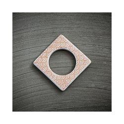 CULTDESIGN Teelichthalter Manschette für Teelichthalter kupfer weiß