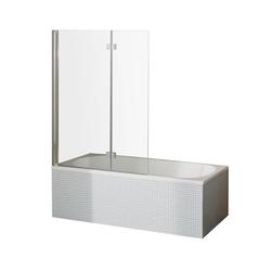 Breuer-»Fara 5«-Drehfalttür für die Badewanne, 2-teilig