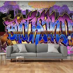 Fototapete Colorful Mural mehrfarbig Gr. 300 x 210
