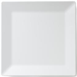 Q Squared NYC Servierplatte Melamin Servierplatte, (1 tlg., 1 x Servierplatte) weiß Servierplatten Geschirr, Porzellan Tischaccessoires Haushaltswaren