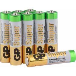 Super Alkaline AAA - 8 Batterien Batterie, LR03 (1,5 V)