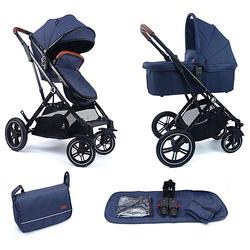 Kinderwagen Lania Babywagen blau Gr. bis 15 kg