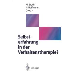 Selbsterfahrung in der Verhaltenstherapie?: eBook von