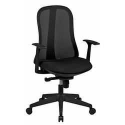AMSTYLE Style Bürostuhl schwarz